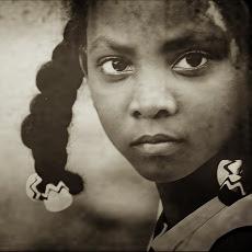 Girl in La Chureca dump, Managua, Nicaragua.