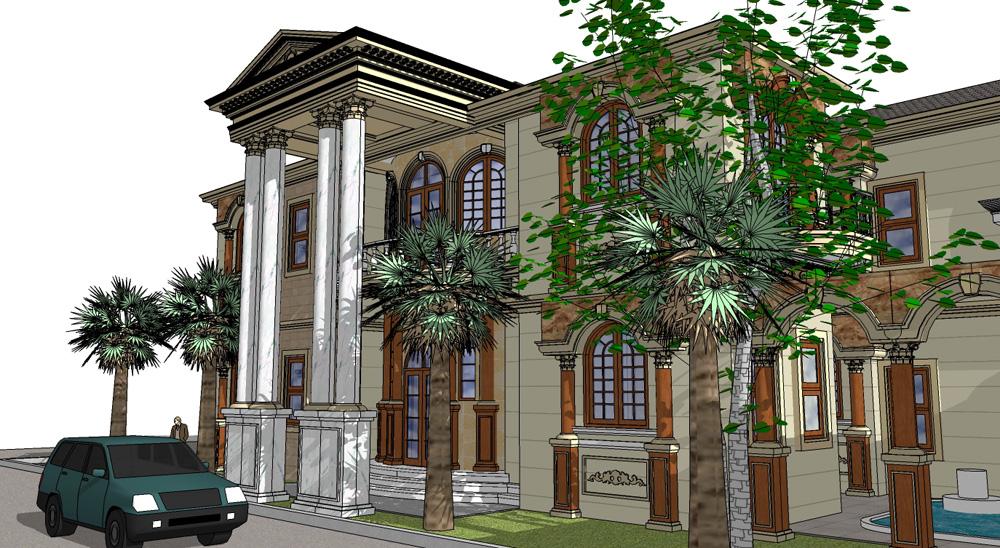 arsitektur ruang ilmu perancangan rumah klasik yunani