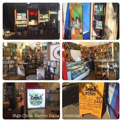 Biblio Cafés y Librerías Barrio Italia