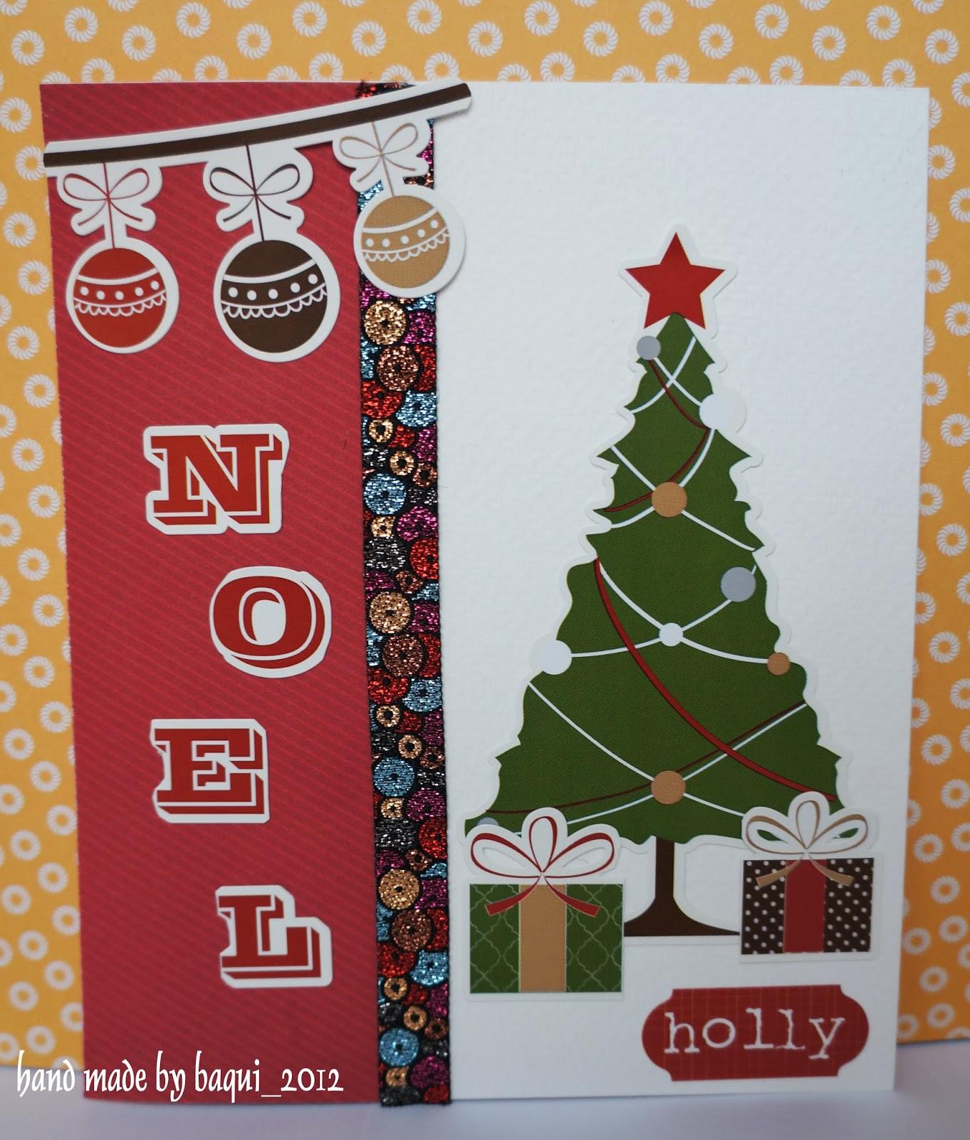 Cmo hacer una postal de navidad con fieltro share the - Manualidades postales navidad ...