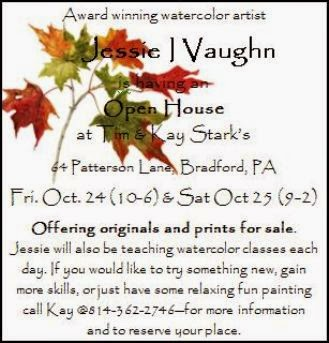 10-24/25 Jessie Vaughn Open House