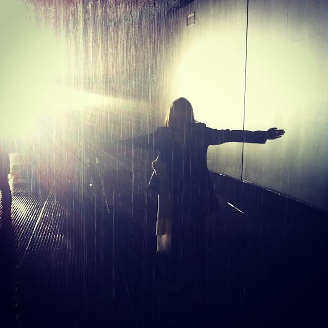 Rain Room at the Barbican, London