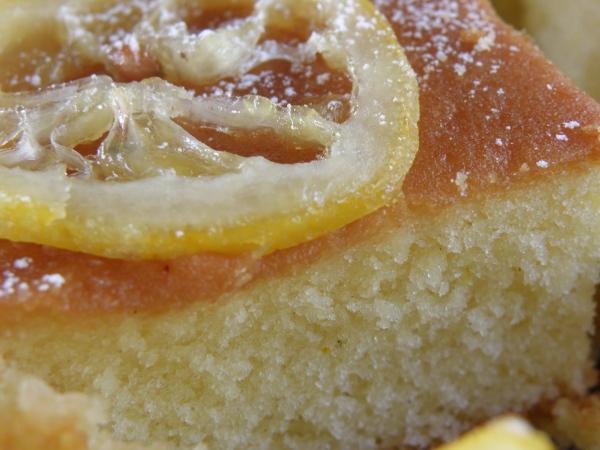 Sugarprincess: Lemon Sirup Cake - Zitronen-Sirup-Kuchen vom Blech