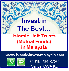 Islamic Unit Trust Investment - Malaysia