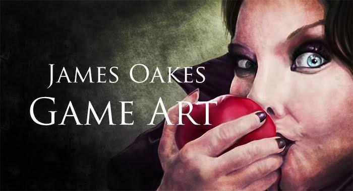 James Oakes Game Art Design