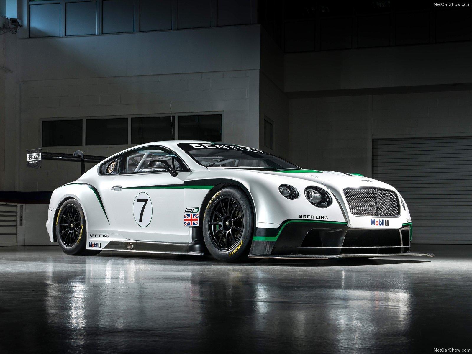 Hình ảnh xe ô tô Bentley Continental GT3 Racecar 2014 & nội ngoại thất