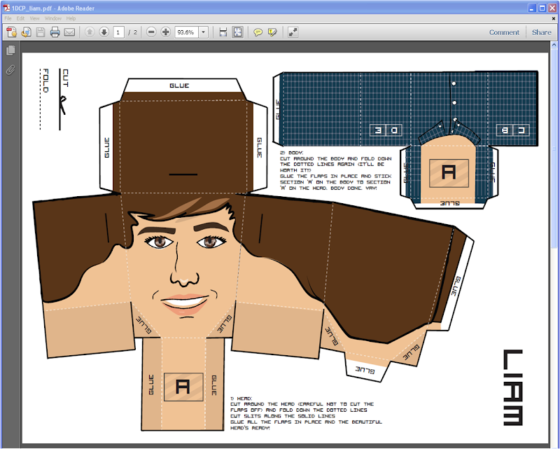 Liam Payne Paper Doll title=