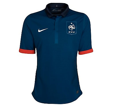 France Home Shirt 2010/11