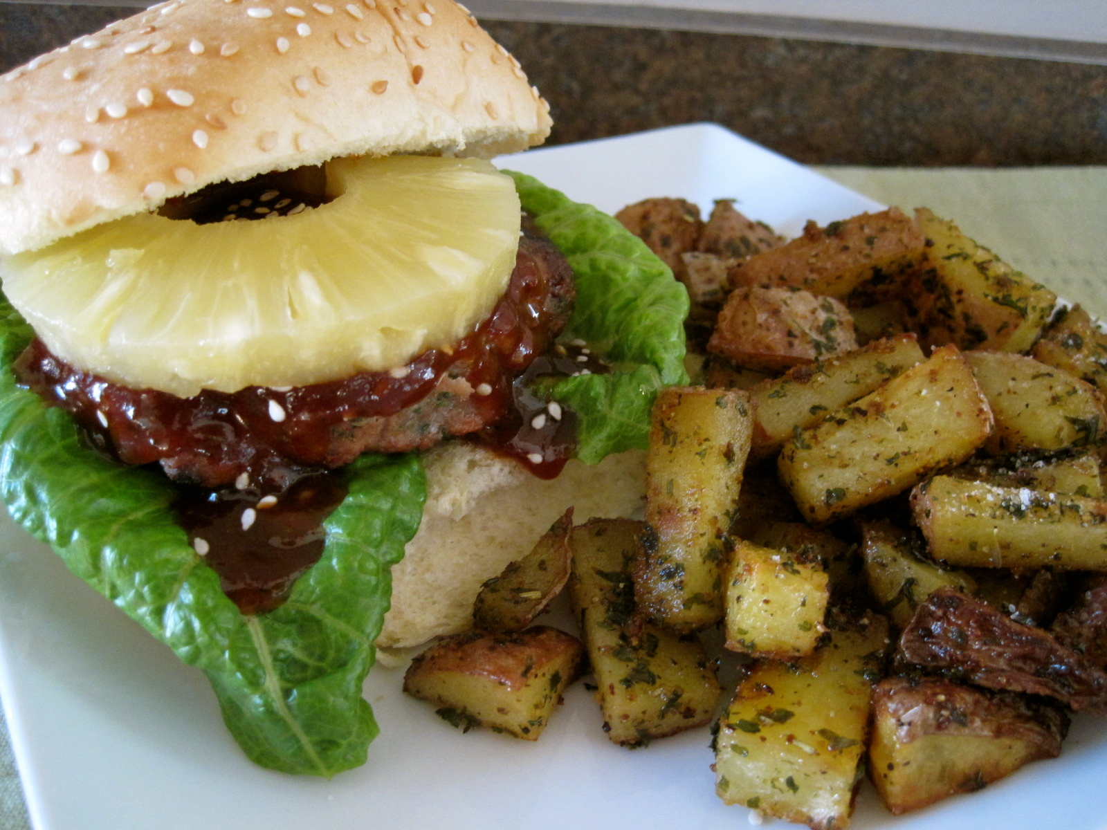 Mrs. Schwartz's Kitchen: Asian Turkey Burgers with Teriyaki BBQ Sauce