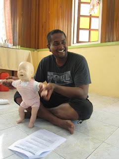 PADI care for children efr