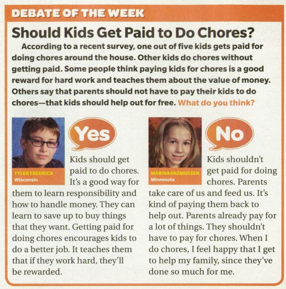 children should be paid for doing You are here: home / children / should kids be paid for chores should kids be paid for chores by tiffany 27 comments.