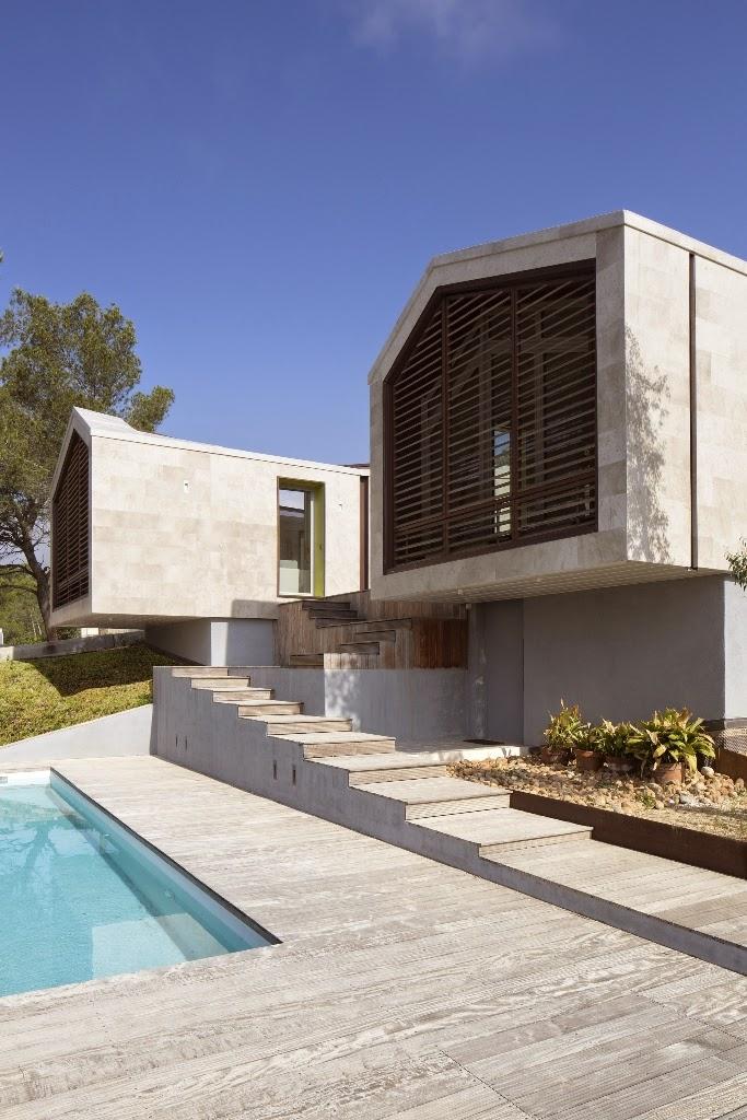 Rumah Dengan Split Level
