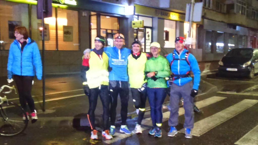 Arnold Dekani, după alergarea celor 100 km pe traseul Reşiţa - Timişoara. Grup Start