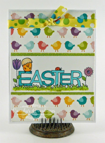 Chicky Easter Card