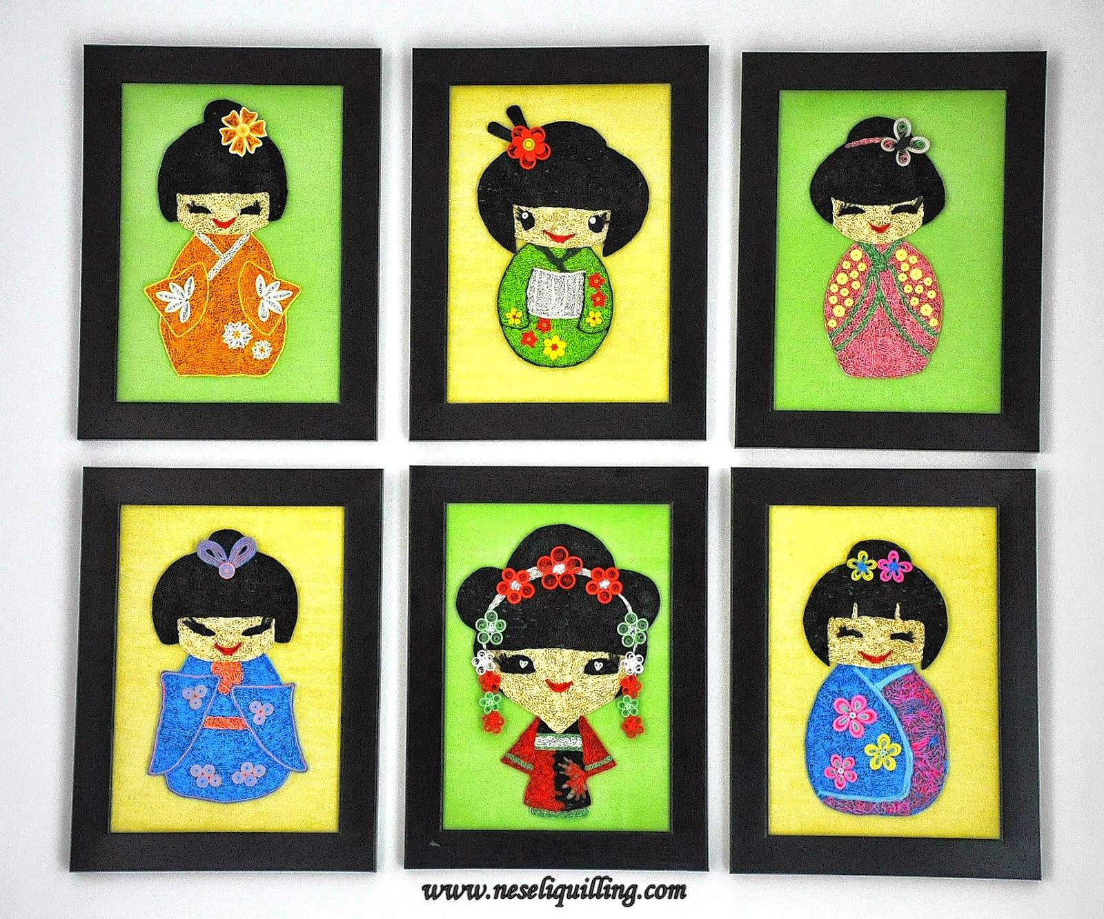 quilling geisha
