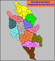 Peta Wilayah Kerja