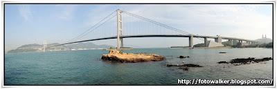 青馬大橋全景@珀麗灣碼頭