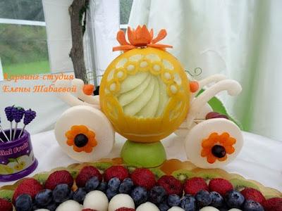 свадебный фуршет фруктовая нарезка