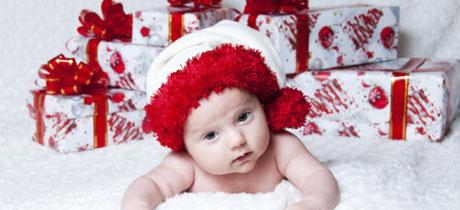 fotos de bebe disfrazados navidad