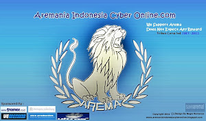 Banner Aremania Indonesia Cyber Online