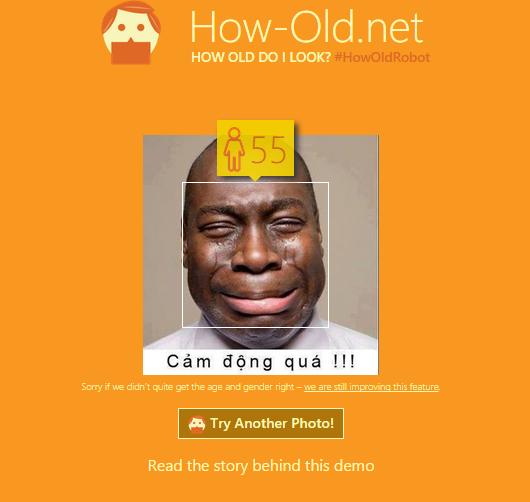 Hướng dẫn sử dụng web đoán tuổi How-old.Net của Microsoft 4