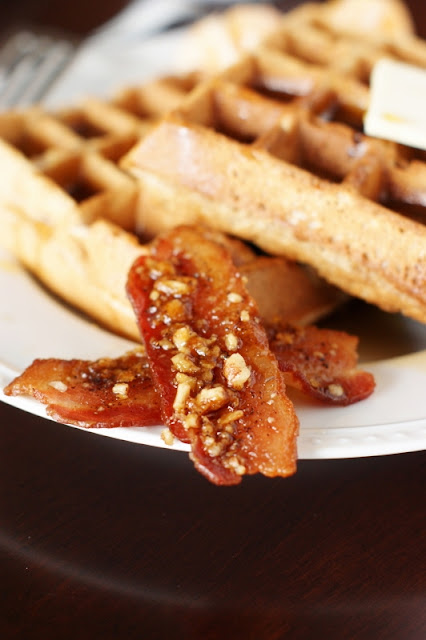 Spicy Praline Bacon