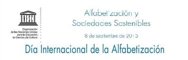 8 de septiembre - Día Internacional de la Alfabetización