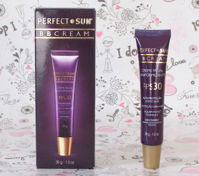 Resenha, BB Cream, Perfect Sun, FPS 30