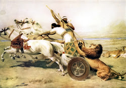 Assyrian Royal Lion Hunt
