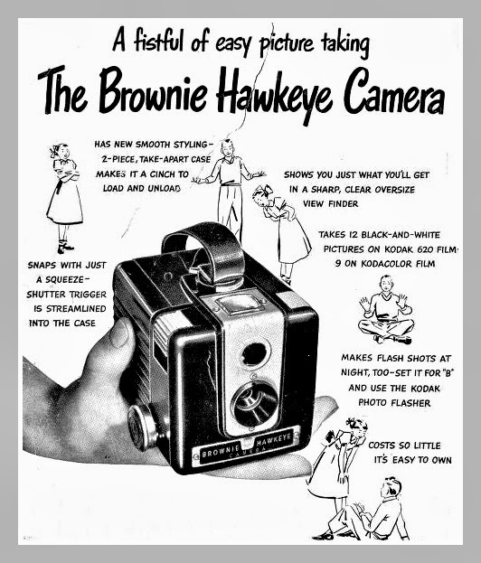 Brownie Hawkeye Camera 1950s