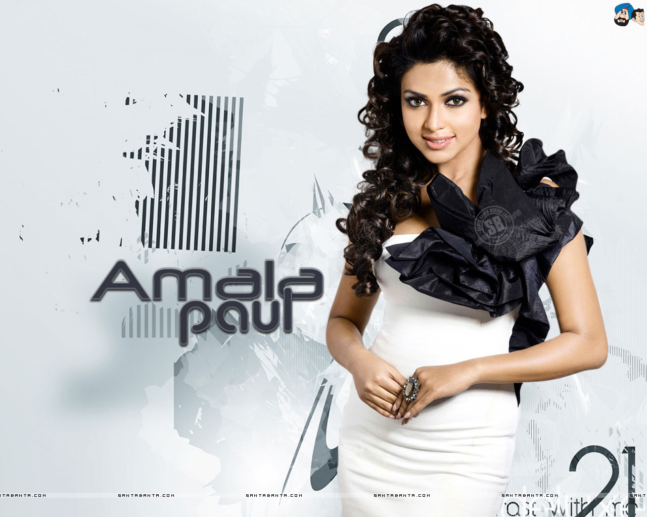 Actress and Girls Pictures: Amala Paul Wallpaper