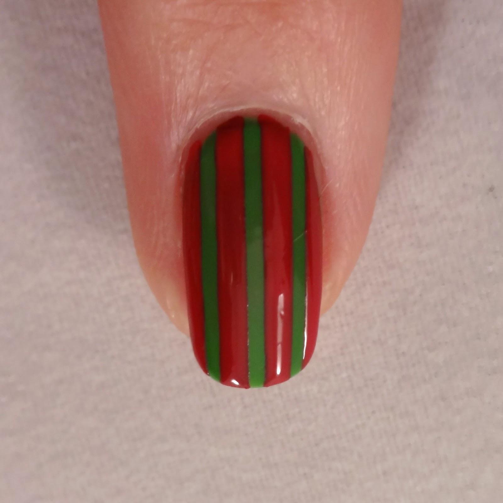 Striped Nail