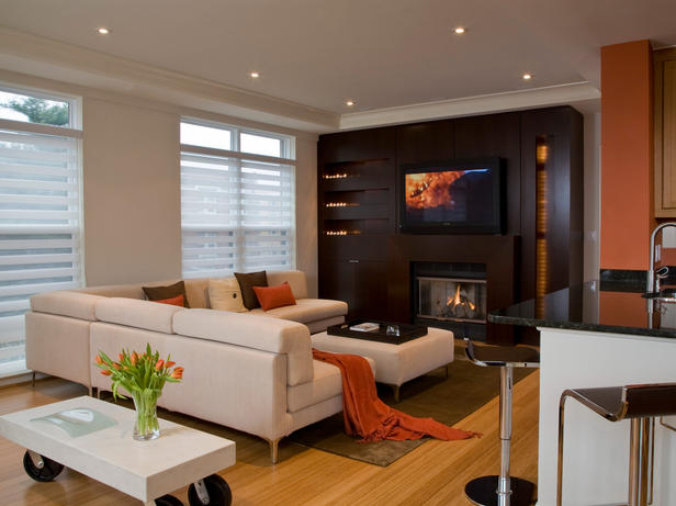 Modern Furniture Home Theater Decorating Ideas 2012 From Hgtv