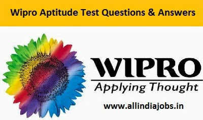Wipro Aptitude Test