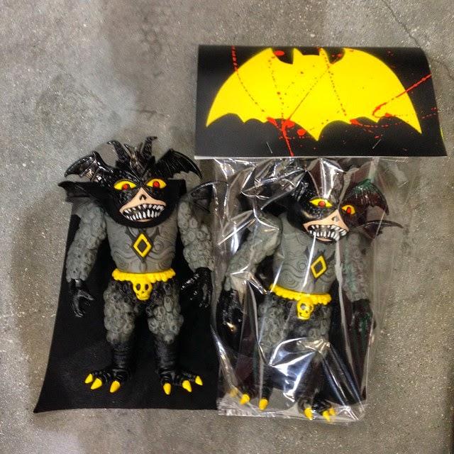 "Designer Con 2014 Exclusive Batman Inspired ""Batbog"" Ultrus Bog Vinyl Figure by Skinner"