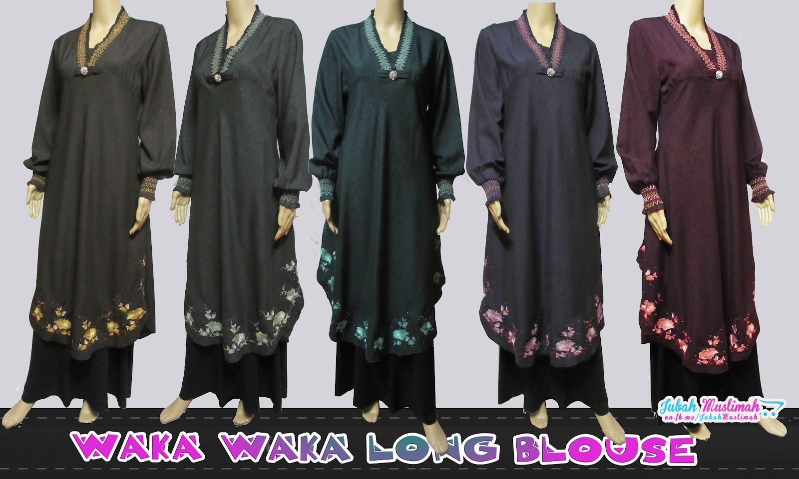 Waka Waka Long Blouse 20