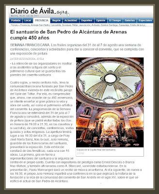 DIARIO DE AVILA-ARENAS DE SAN PEDRO-EXPOSICION-PINTURA-ERNEST DESCALS