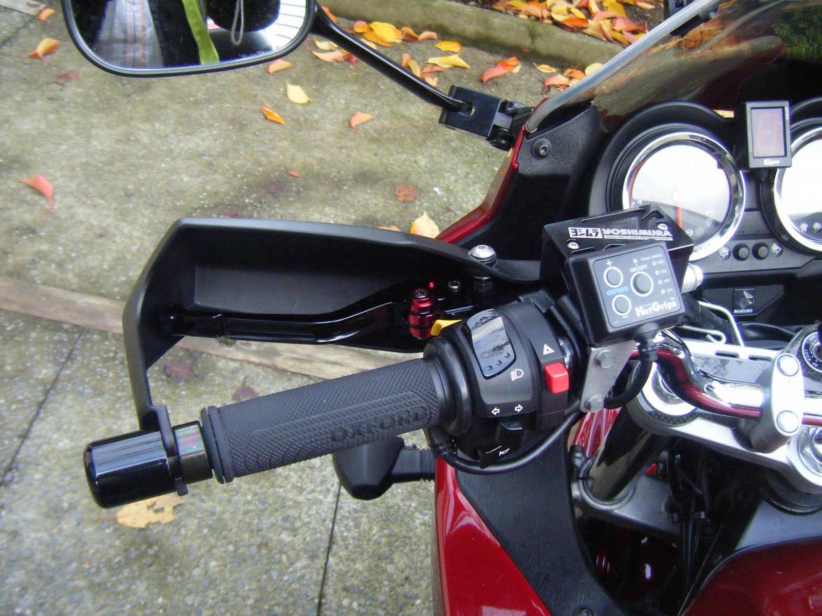 ktm heated grips instructions