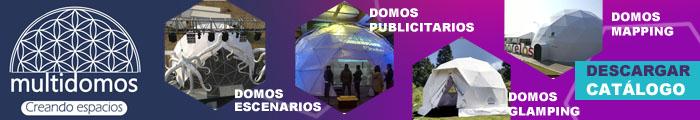 Renta de Domos geodésicos Multidomos de México