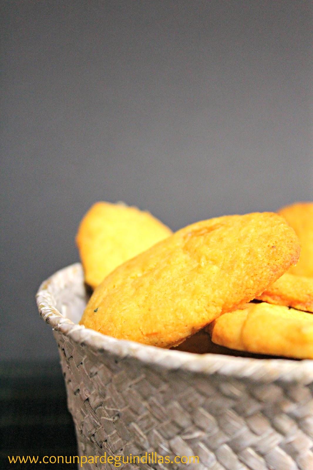 Galletas de queso