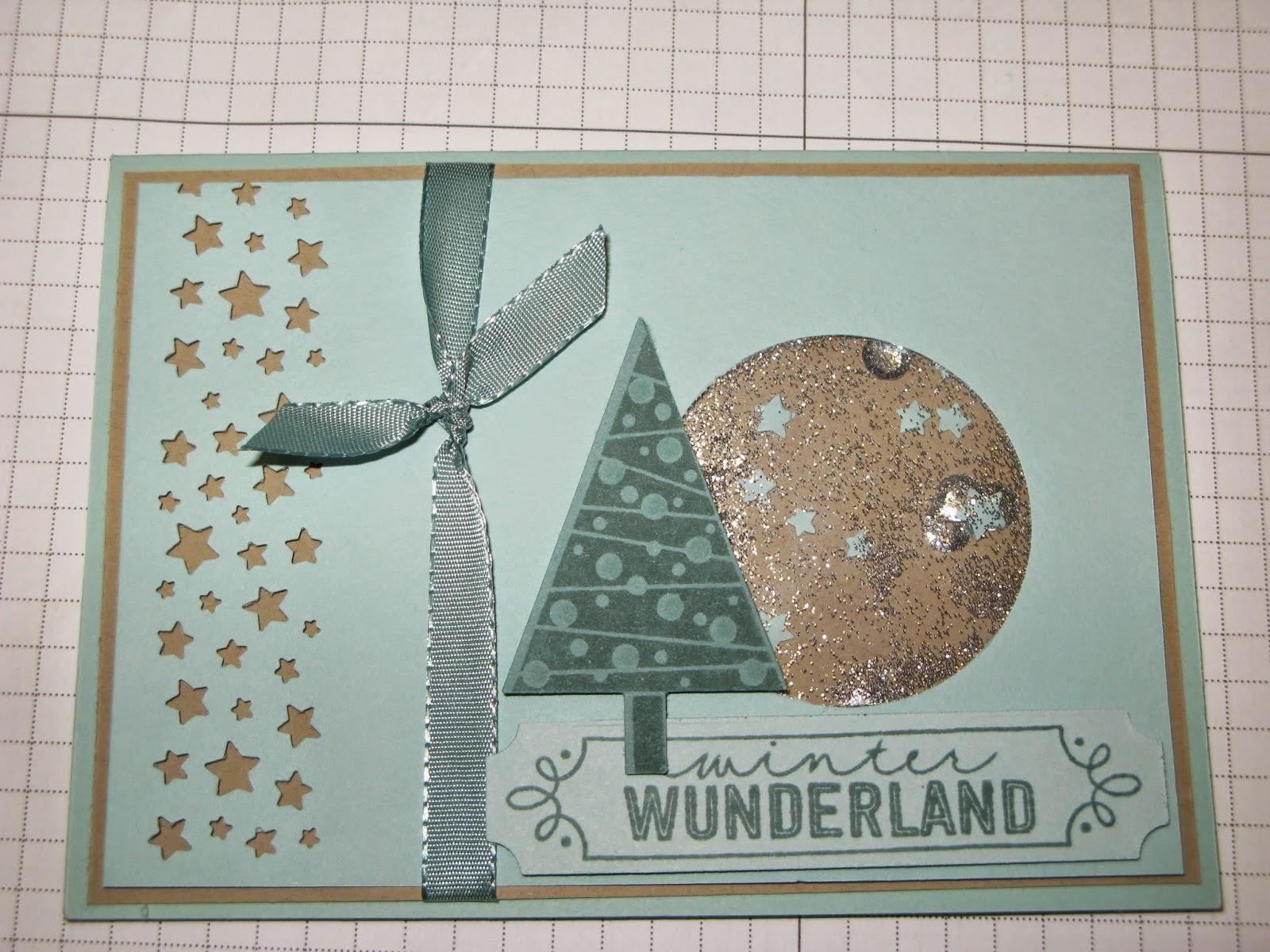 Stampin mit Scraproomboom: Eine Schüttelfenster-Karte
