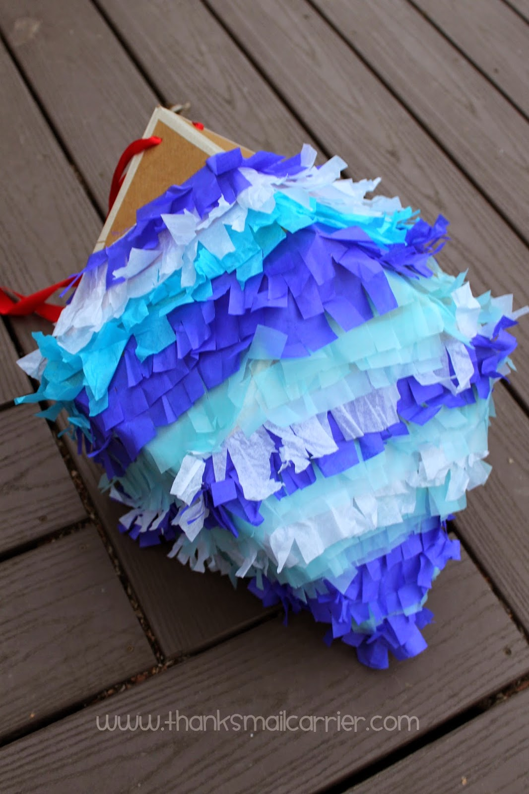 homemade pinata