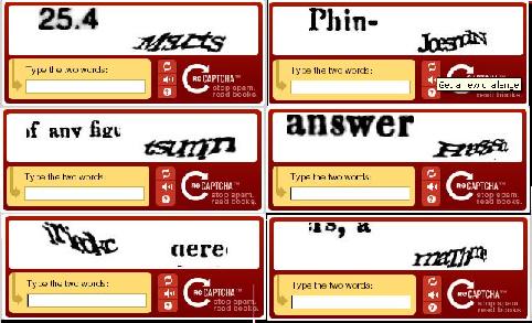 Cara Mudah Mengetik Kode CAPTCHA