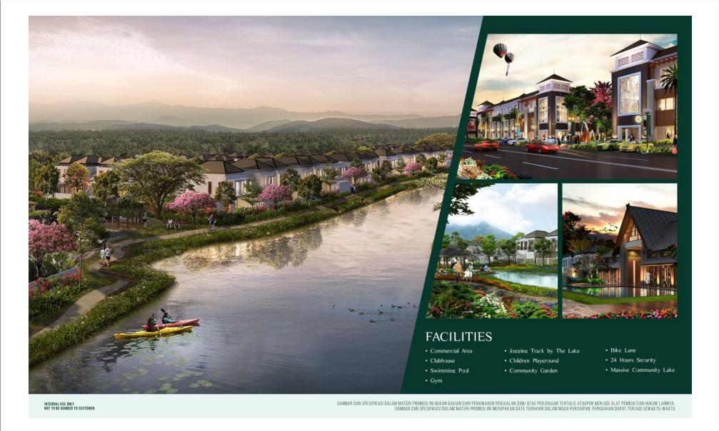 Cluster Amagriya Eka Podomoro Park Bandung Selatan Harga