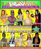 10 Celebridades màs Sexys Del Estado Sucre 2011 Portada -Julio 2011