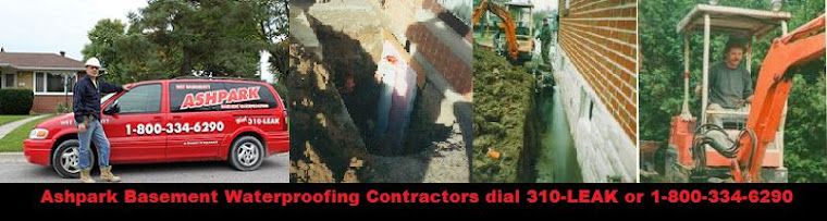 Basement Waterproofing Contractors dial 310-LEAK or 1-800-334-6290