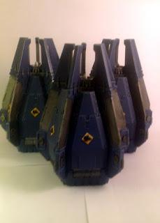 40k SW three pods FTW!