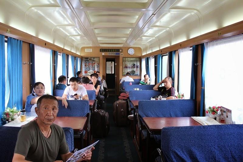 Restaurant en tren