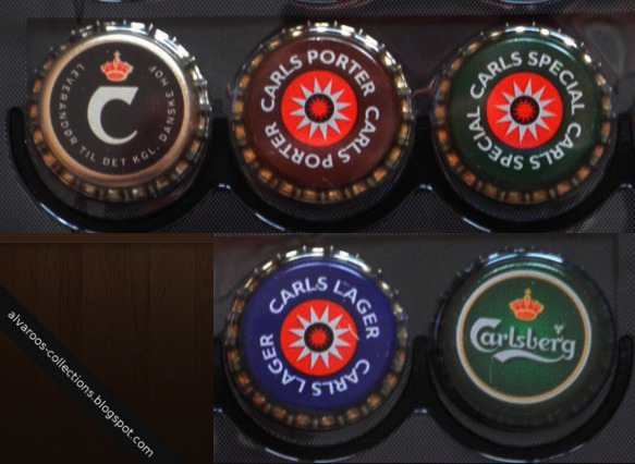 Beer caps collection: Carlsberg / Carls Porter, Special, Lager