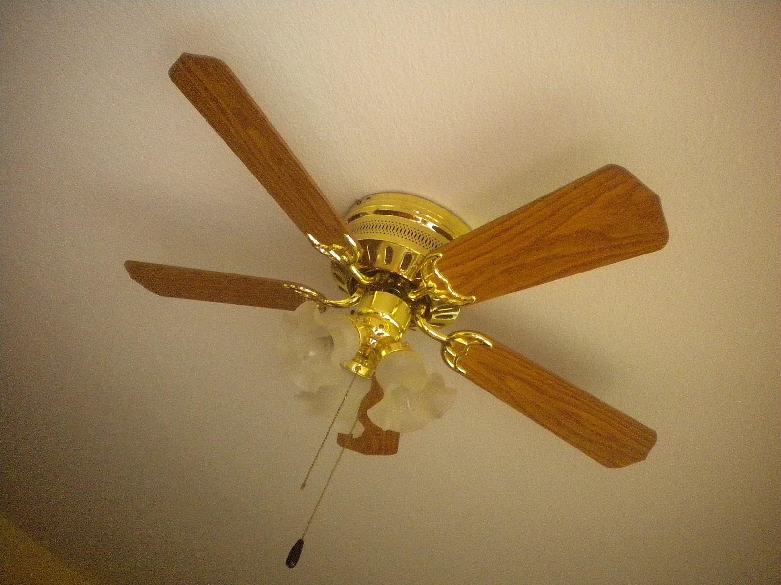 Cottage Blessings Good Bye Ugly Ceiling Fan